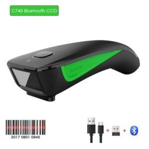 Безпровідний + Bluetooth сканер штрихкодів Netum C740
